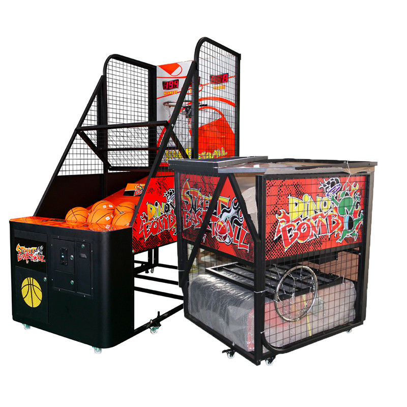 Folding Arcade Basketball Game Machine / Street Basketball Machine